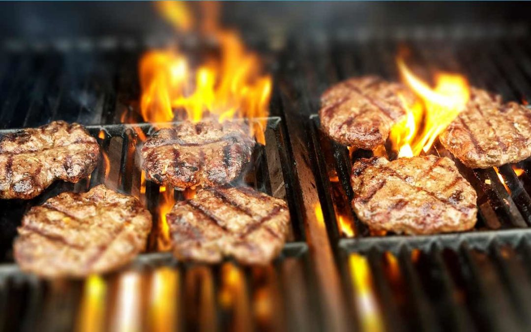 BURGERS FIRE GRILL GRILLING